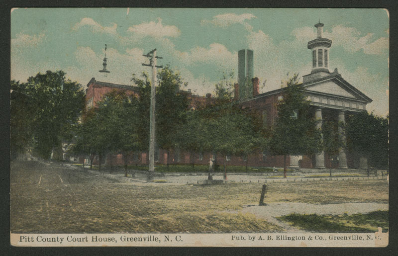 Pitt County court house, Greenville, N.C.