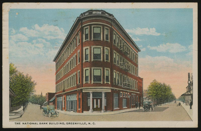 National Bank Building, Greenville, N.C.