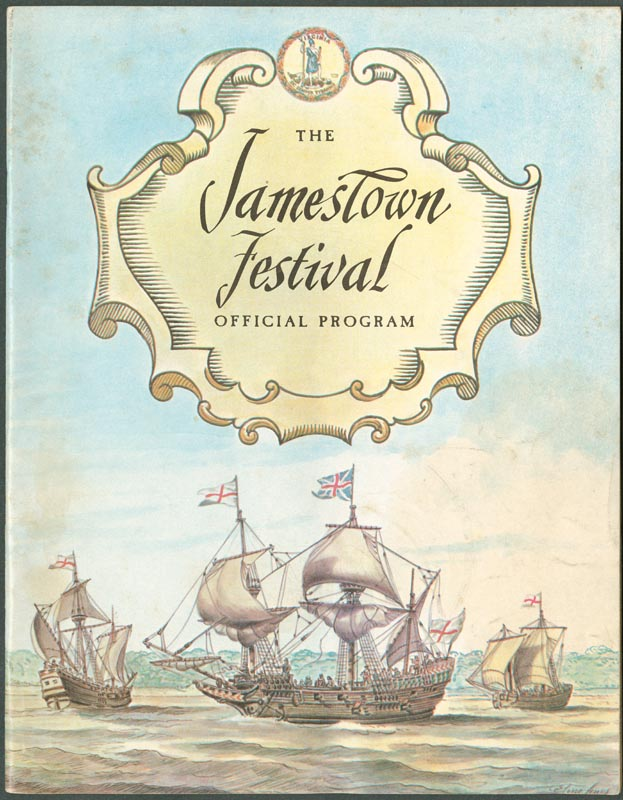Jamestown Festival official program.