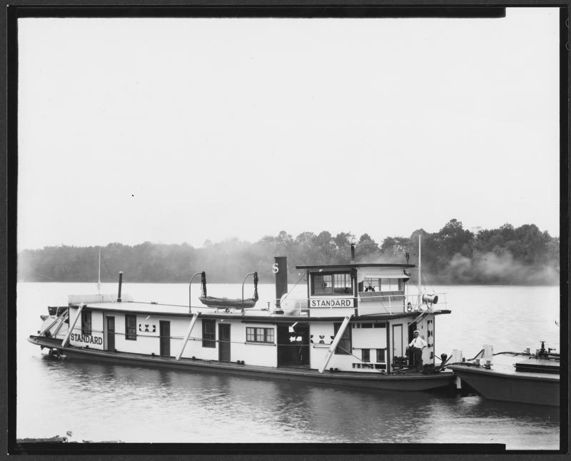 The towboat Standard.