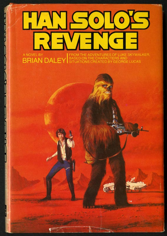 Cover of Han Solo's revenge.