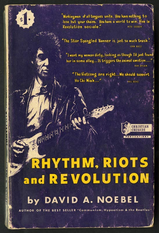 Cover of Rhythm, riots and revolution.