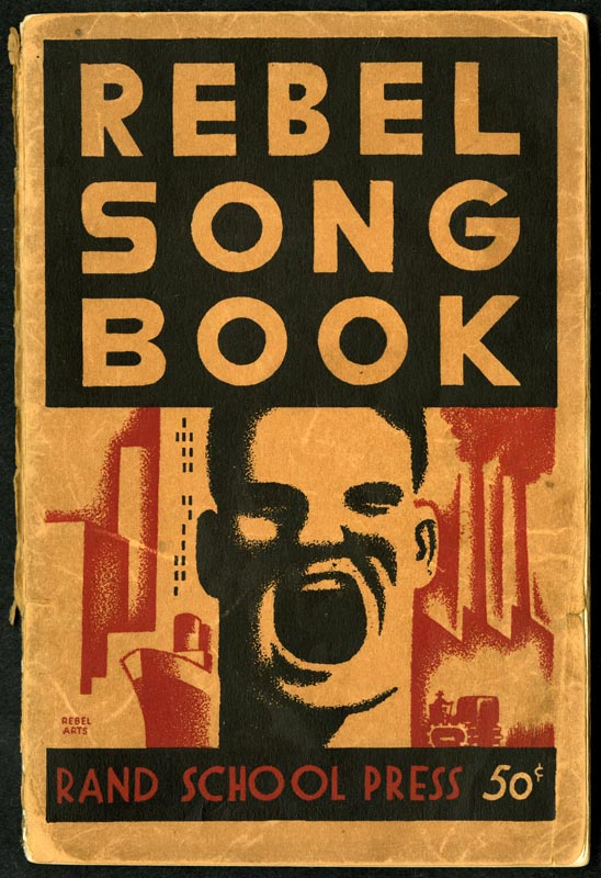 Cover of Rebel song book