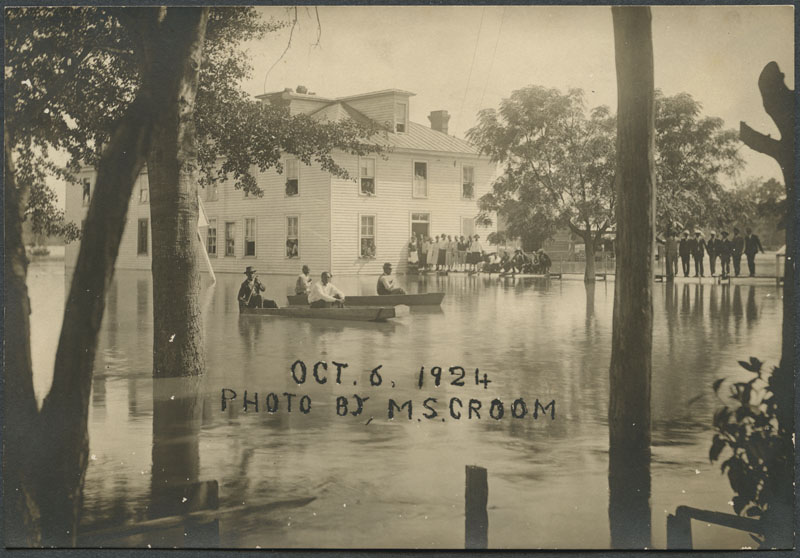 Flooding in Kinston, North Carolina