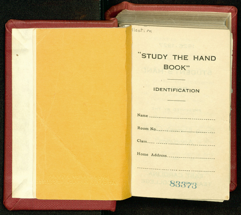 Hand Book of East Carolina Teachers College