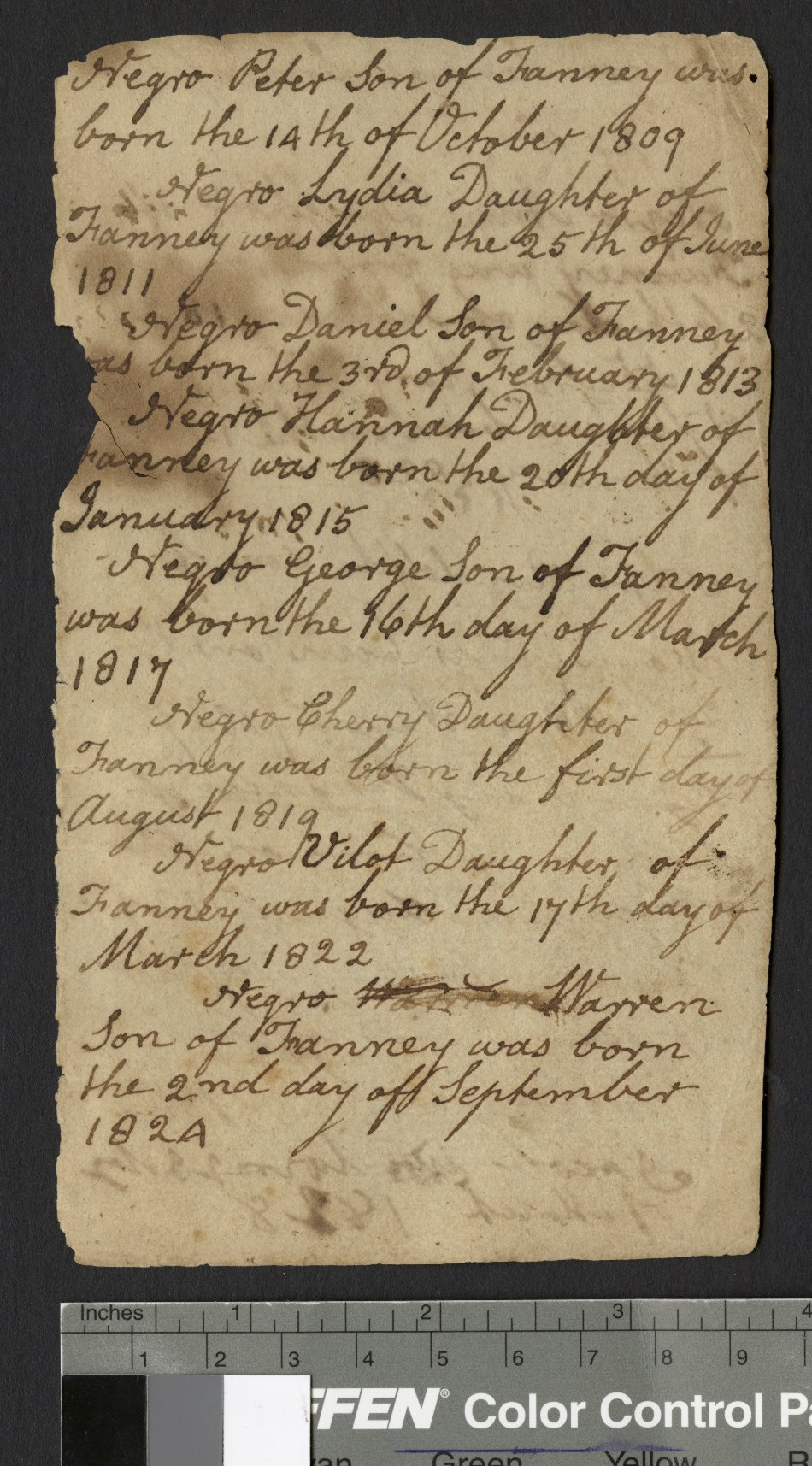 James Ormond Diary, page 52