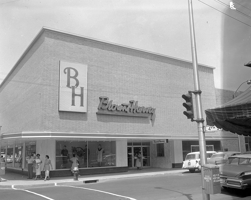 Picture of the Blount Harvey Building in Downtown Greenville. The building has since been refurbished and is the current home of Jefferson's