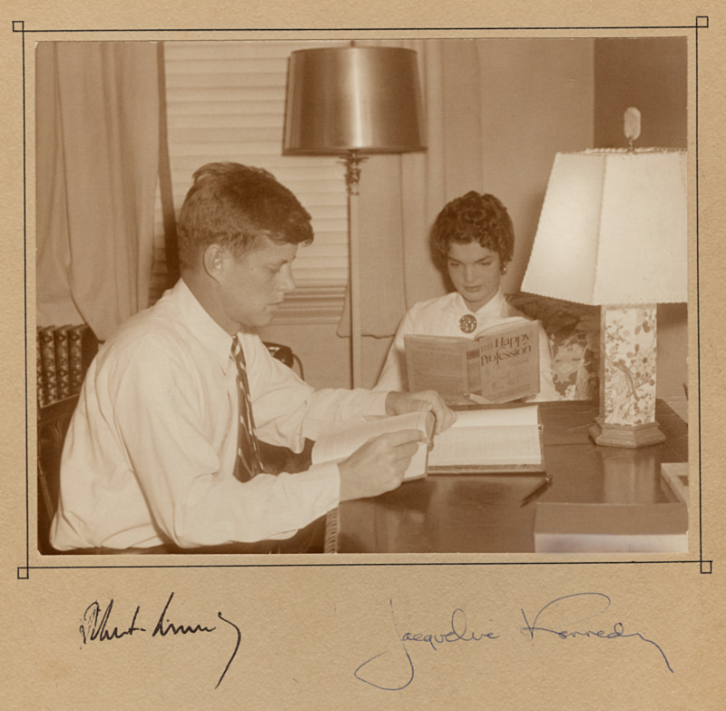 John Kennedy And Wife Jacqueline