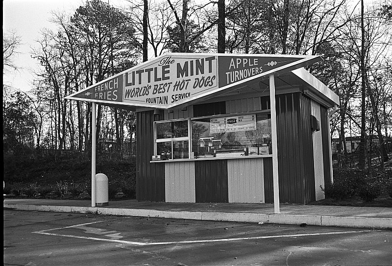 The Little Mint advertisement