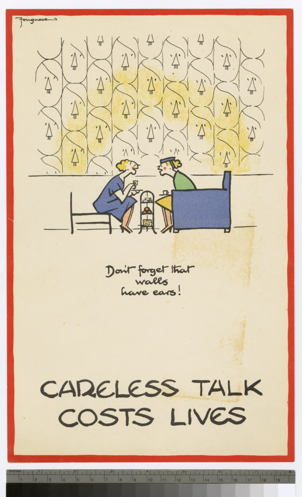 Careless talk costs lives posters