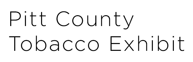 Pitt County Tobacco Exhibit wordmark