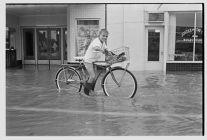 Bike in flood