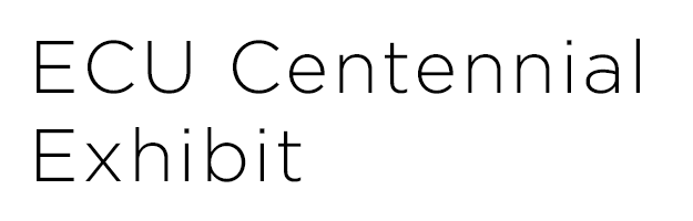 ECU Centennial wordmark